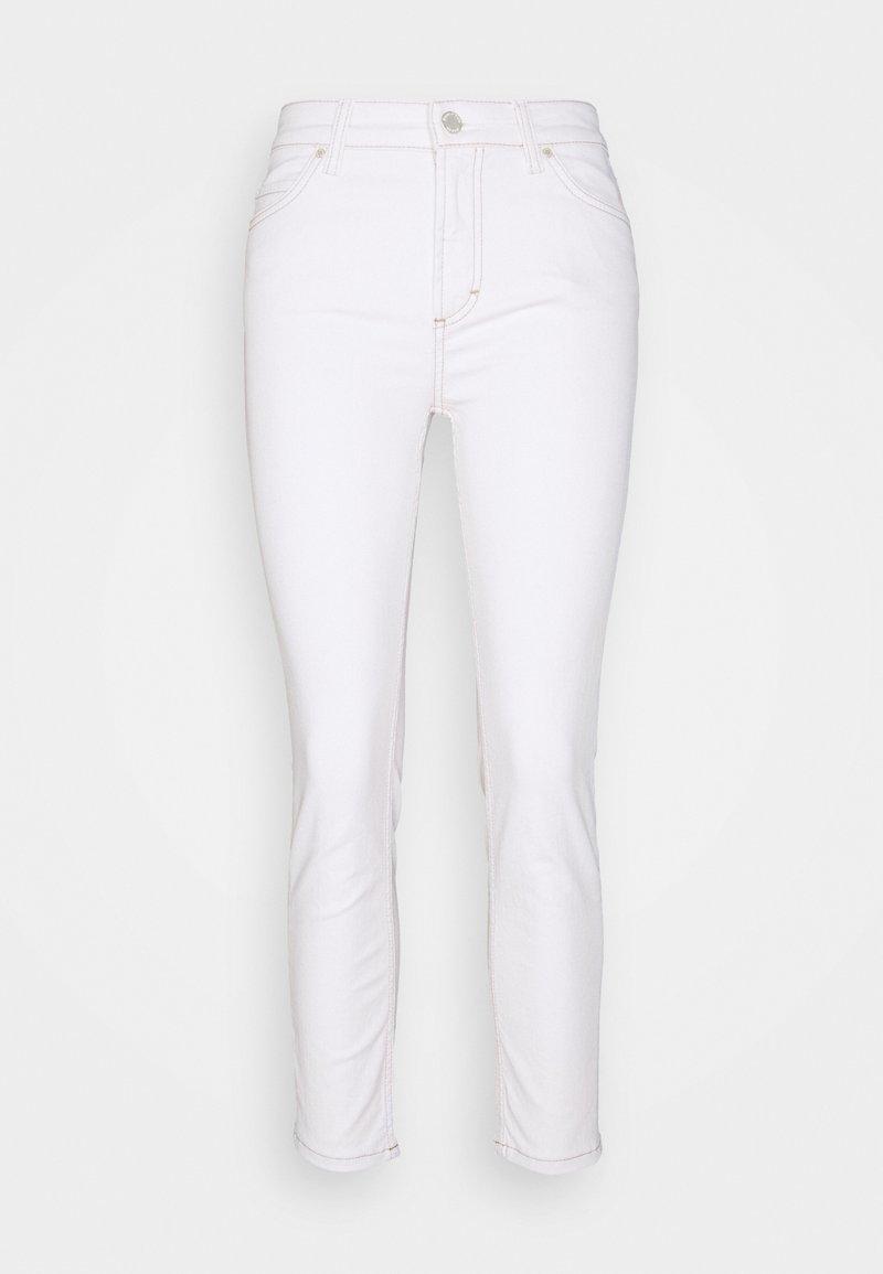 Marc O'Polo DENIM - KAJ CROPPED - Skinny džíny - multi/off-white cotton