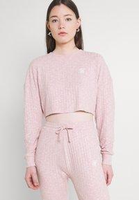 SIKSILK - LOUNGE PANTS - Tracksuit bottoms - pink - 3