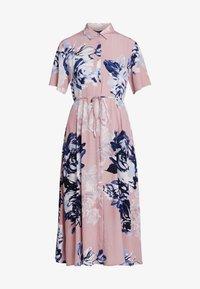 French Connection - CORSETTA DRAPE DRESS - Maxi dress - cinder pink/multi - 5