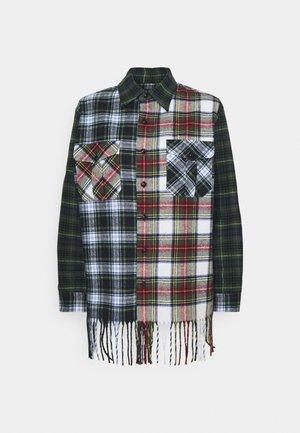 LONG SLEEVE BUTTON FRONT - Košile - patchwork/multi