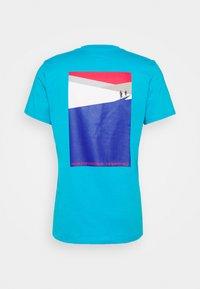 The North Face - FOUNDATION GRAPHIC TEE - Camiseta estampada - meridian blue - 7