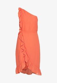 Bruuns Bazaar - ROSALINA KENDRA DRESS - Sukienka koktajlowa - poppy red - 5