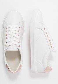 GANT - SEAVILLE  - Trainers - bright white/rose gold - 3