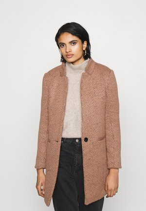 ONQREGINA AINE COATIGAN  - Short coat - mocha mousse