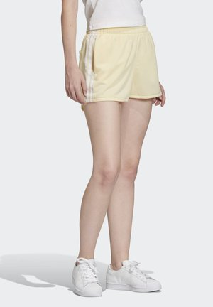STRIPES SHORTS - Shorts - yellow