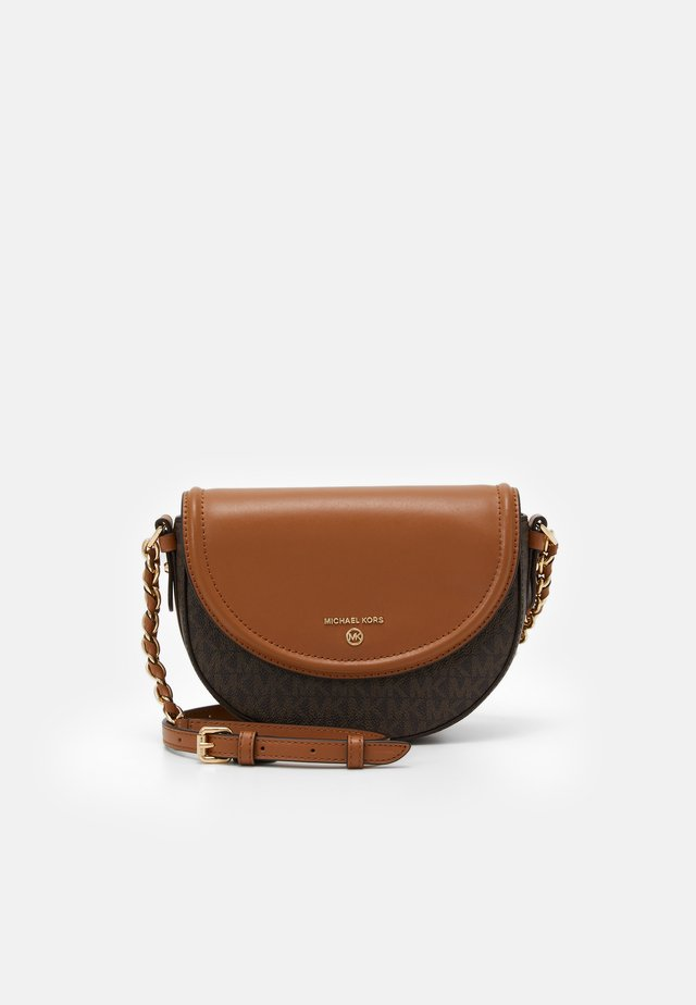 JET SET CHARM DOME - Borsa a tracolla - brown/acorn