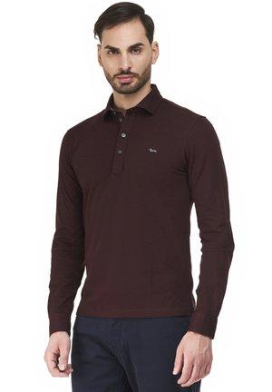 BASIC ML POLSO CAMICIA - Polo shirt - bordeaux