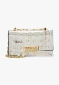 ZAC Zac Posen - EARTHETTE CHAIN SHOULDER QUILTED PEARL LADY - Handtasche - clear - 5