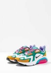 Nike Sportswear - AIR MAX 200 - Sneaker low - mystic green/white/gold/light current blue/pink blast/medium violet - 4