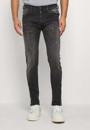 JONDRILL HYPERFLEX - Jeans slim fit - black