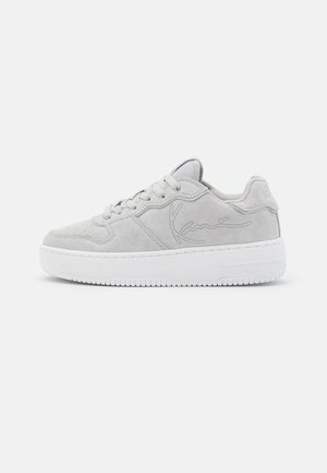 89 UP LOGO - Sneakers laag - grey/white