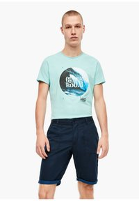 QS by s.Oliver - Shorts - marine - 3