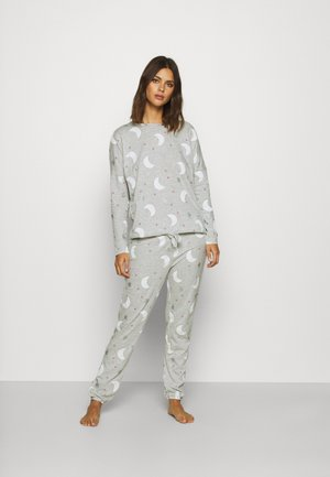 MOON SET - Pyjama - light melange