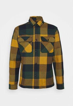 SLHLOOSEREED CHECK - Shirt - ponderosa pine