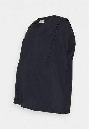 NURSING - Basic T-shirt - black