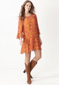 Indiska - MILLIE - Sukienka letnia - yellow - 1