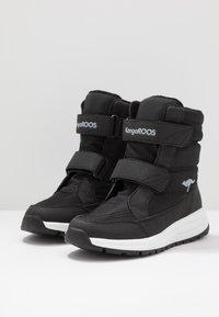 KangaROOS - K-FLOSSY RTX - Winter boots - jet black/steel grey - 3