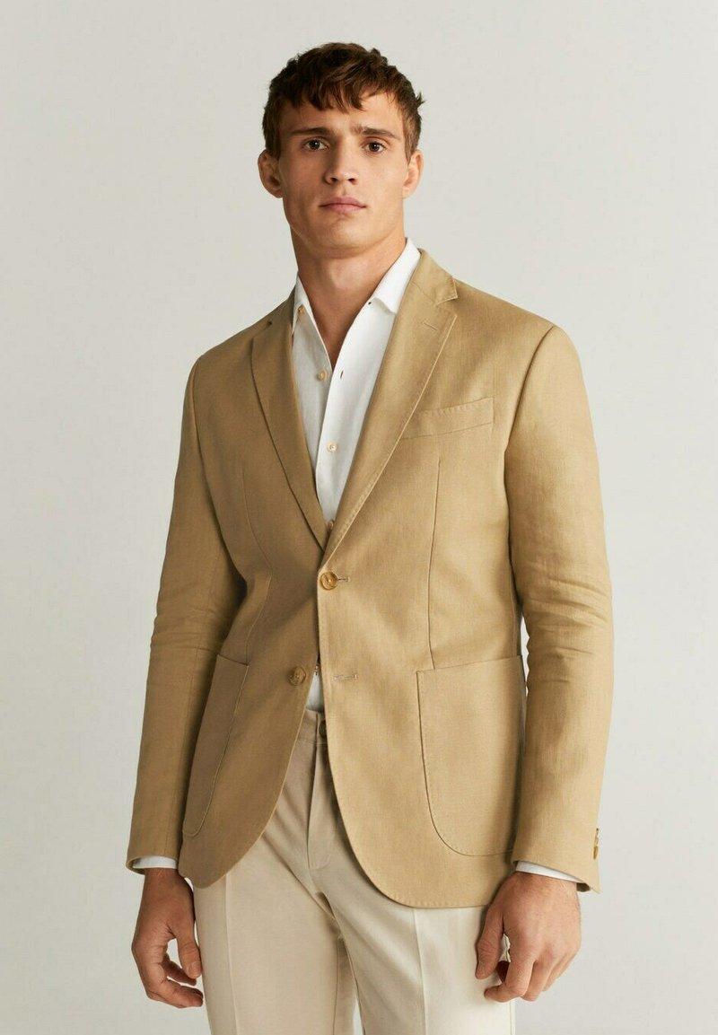 Mango - COLA - Blazer jacket - sandfarben