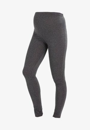 Legginsy - dark grey melange
