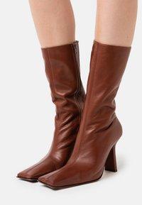 MIISTA - NOOR - High heeled boots - brown - 0