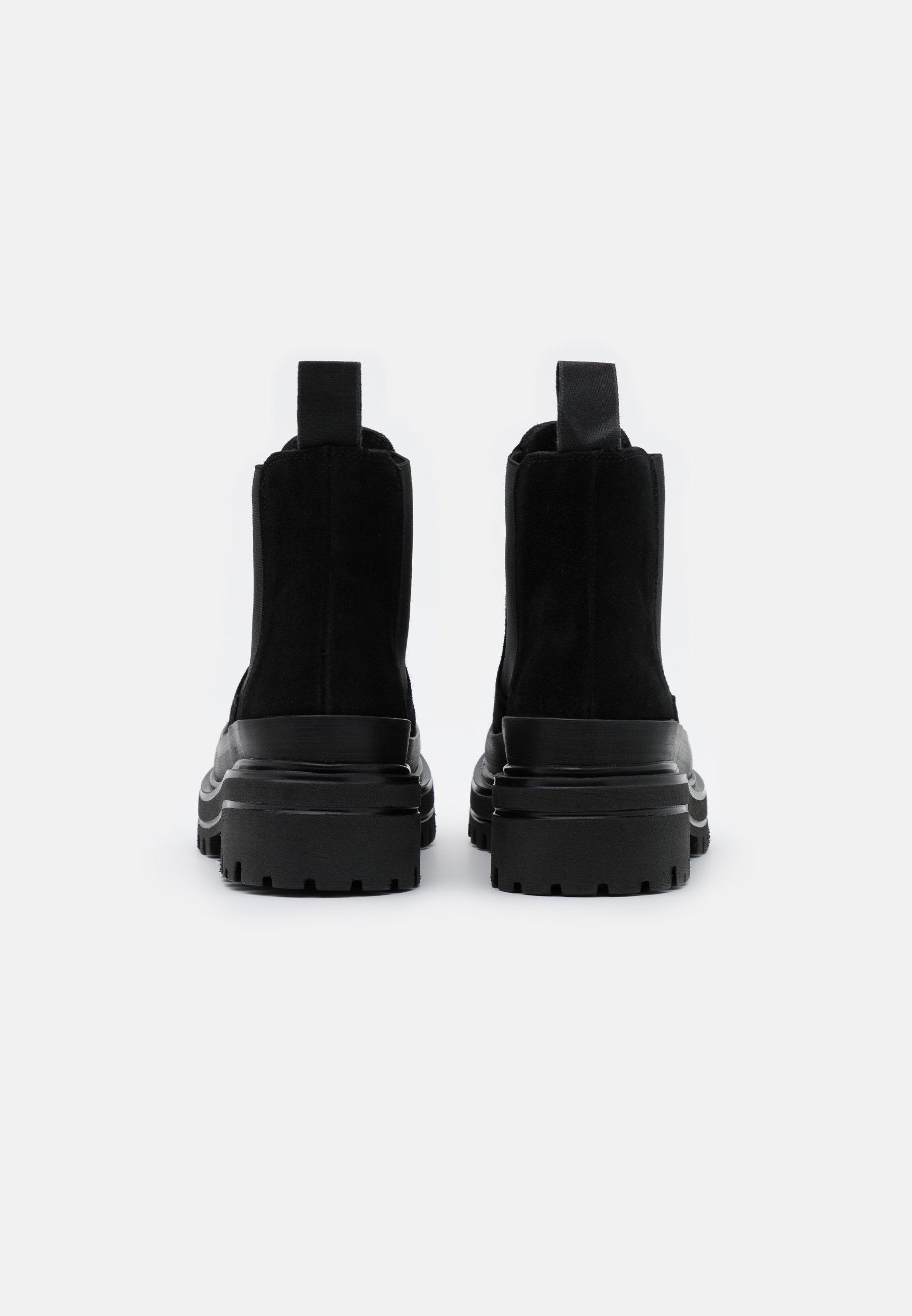 BIADICY Platåstövletter black