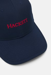 Hackett London - CLASSIC - Casquette - navy/red - 3