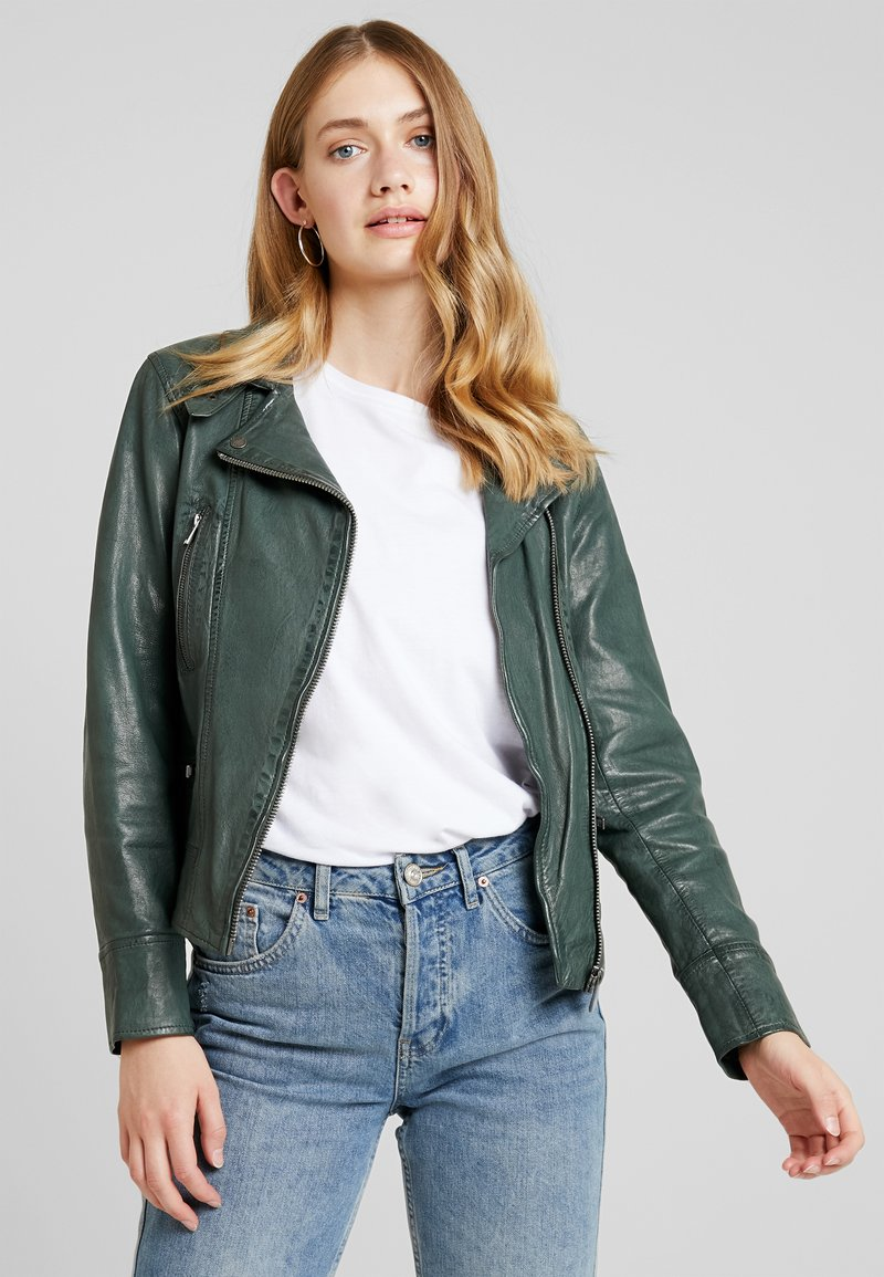 Oakwood - Leather jacket - bronze
