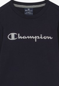 Champion - LEGACY AMERICAN CLASSICS LONG SLEEVE CREWNECK - Long sleeved top - dark blue - 3