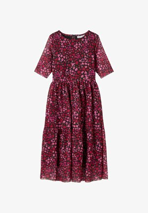 Day dress - fuchsia purple