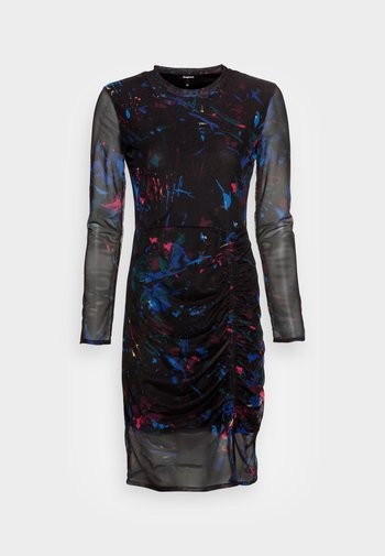 VEST KAMERON - Denní šaty - black