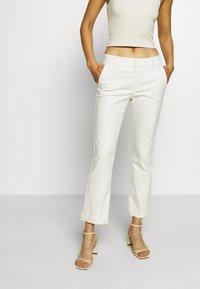 Mos Mosh - IVANA NIGHT KICK - Trousers - off-white - 0