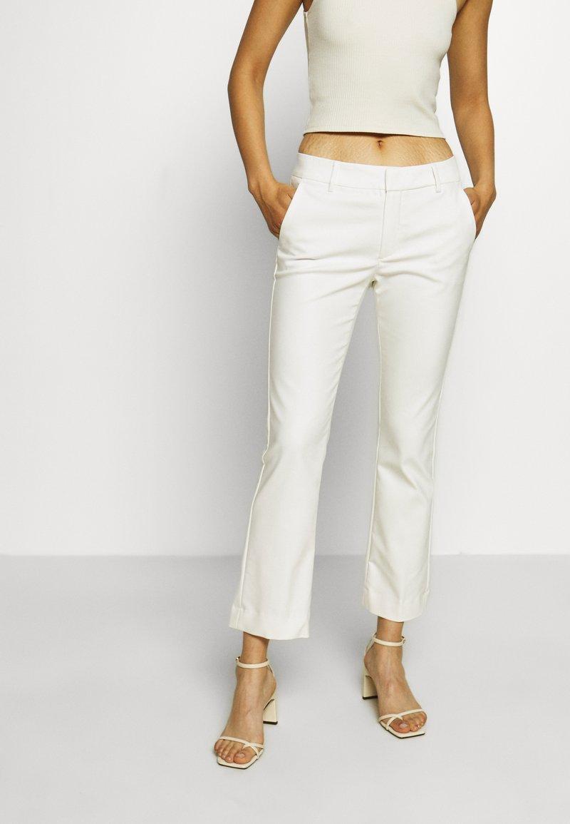 Mos Mosh - IVANA NIGHT KICK - Trousers - off-white