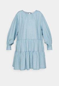 SLFGILLI SHORT DRESS - Denim dress - light blue
