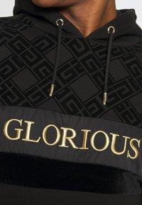 Glorious Gangsta - GALVEZ OVERHEAD - Felpa - black/gold - 4