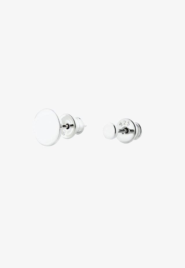 DIFFERENT TWINS EARRINGS - Oorbellen - silver