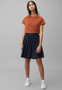 Marc O'Polo DENIM - Pleated skirt - scandinavian blue - 1