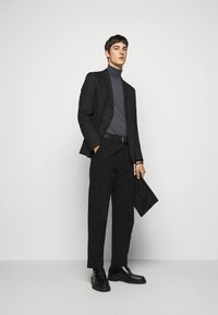 J.LINDEBERG - LYD - Stickad tröja - dark grey melange - 1