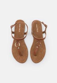 Anna Field - T-bar sandals - cognac - 5