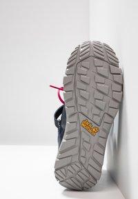 Jack Wolfskin - KIWI WT TEXAPORE MID - Walking boots - dark blue/red - 5