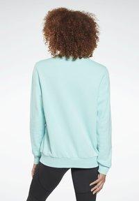 Reebok - FRENCH TERRY BIG LOGO SWEATSHIRT - Sweatshirt - blue - 2