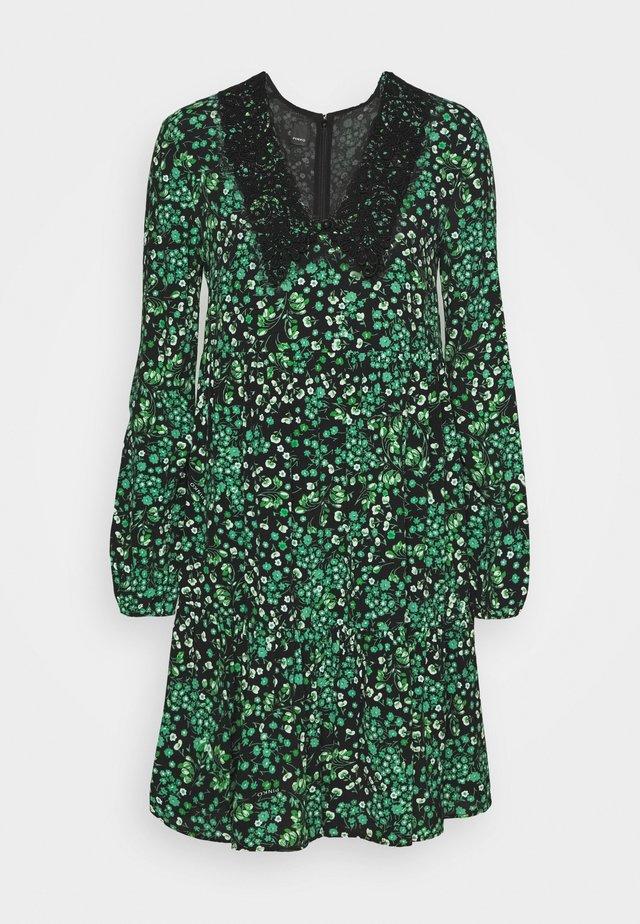 BABEL ABITO - Robe d'été - nero/verde
