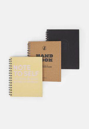 A5 CAMPUS NOTEBOOK 3 PACK UNISEX - Other accessories - multi-coloured