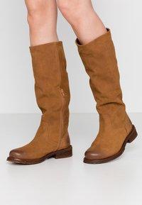 Felmini Wide Fit - COOPER - Laarzen - brown - 0