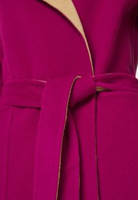 Alberta Ferretti - Klasický kabát - pink/beige - 8