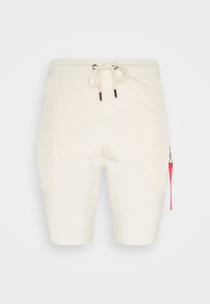 PANEL FLIGHT SHORT - Shorts - ecru