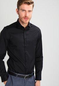 Calvin Klein Tailored - Camicia - black - 0