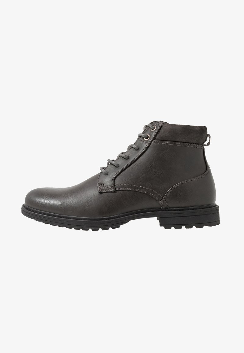 Topman - HUGIN BOOT - Stivaletti stringati - black