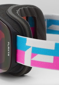 Flaxta - PRIME UNISEX - Occhiali da sci - bright pink/blue - 3