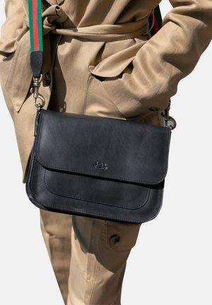 SCHULTERTASCHE - FRAN - Across body bag - schwarz