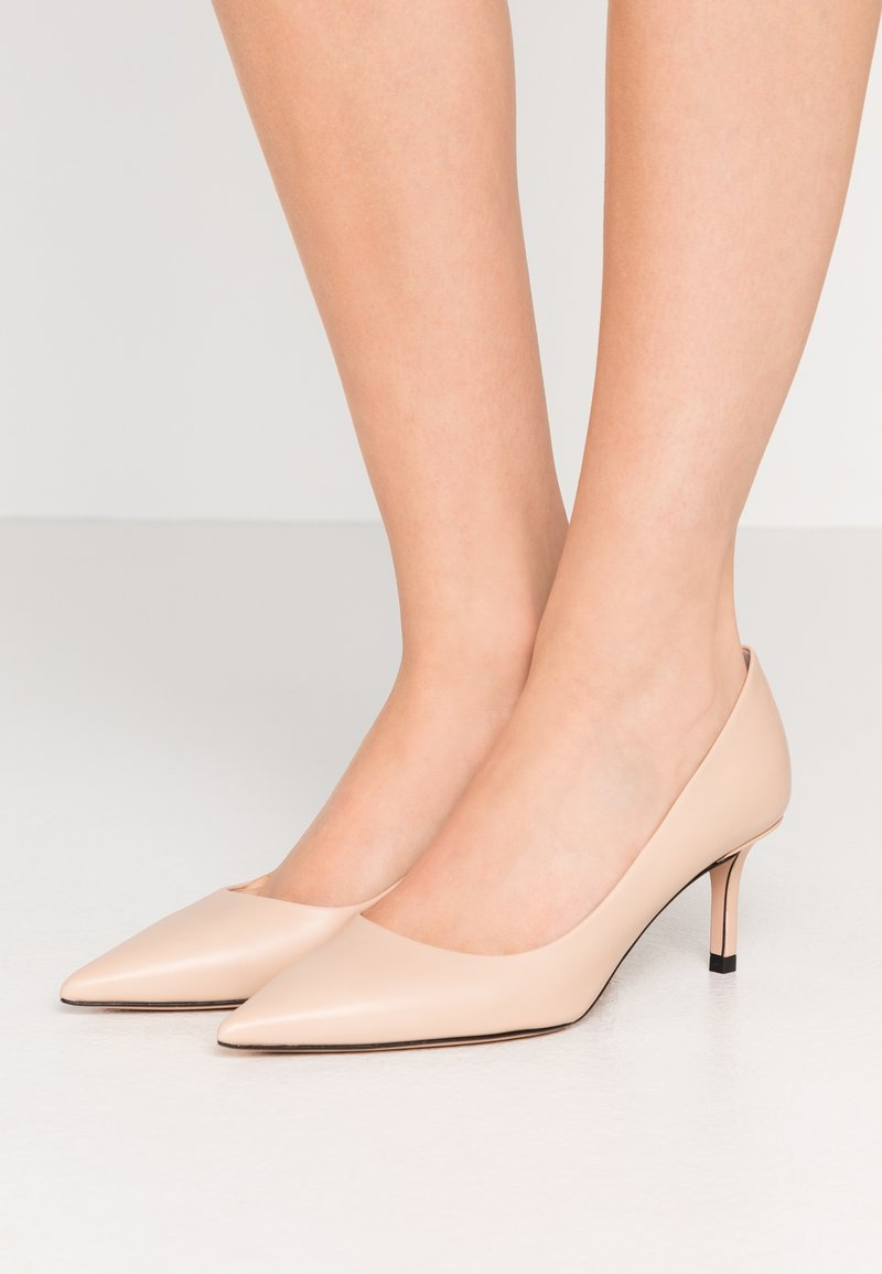 HUGO - INES - Tacones - light beige
